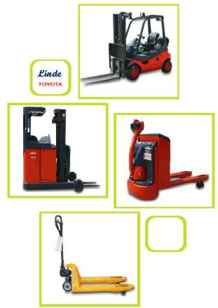 Fork Lifts Storage Equipment