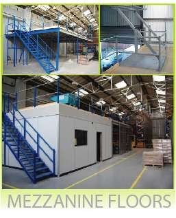 Second Hand Warehouse Mezzanine Floors Pallet Racking