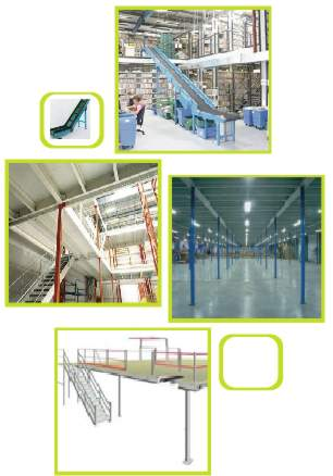 Mezzanine Floors Storage Solutions