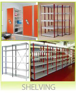 Mobile Shelving Storage