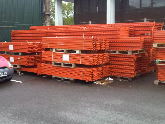SOLD - Used 50 Bays Ready Rack - Heathrow