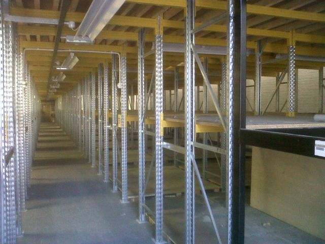 Used - 50 Bays Supporting Floor/Flooring