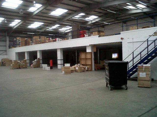 Used Mezzanine Heathrow