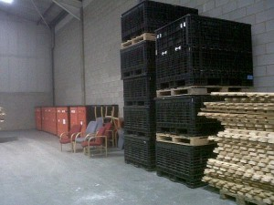 Used Warehouse Storage Containers