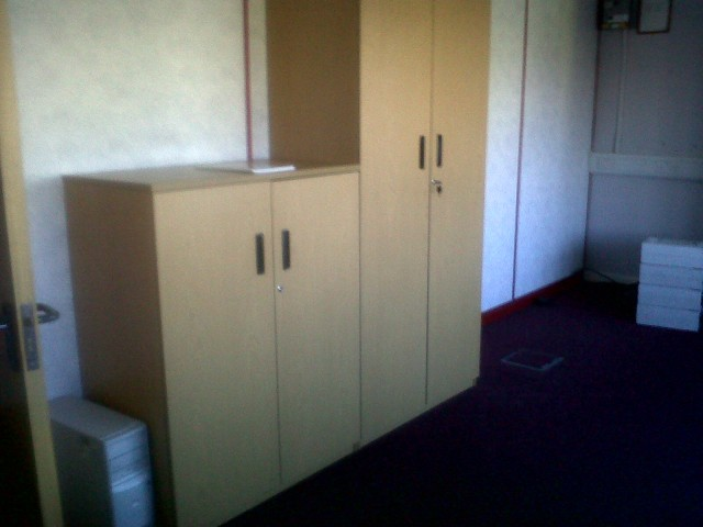 second hand office cupboards
