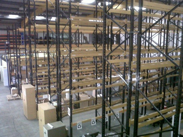 Second hand, used Pallet Racking Available Now At JJ Storage Systems UK Ltd.