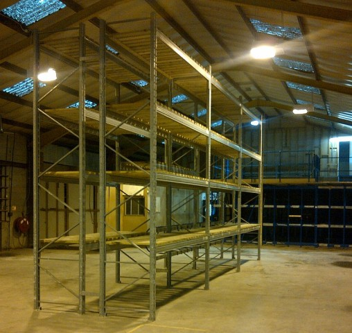 Used Mezzanine Used Pallet Racking