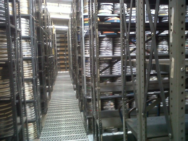 competitive price ff814 e7a0e Used Shelving Units – Film Storage Shelving « Used and ...
