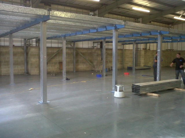 Used mezzanine floor for sale